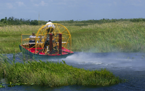 Incentive in Florida: van airboat tot space centre